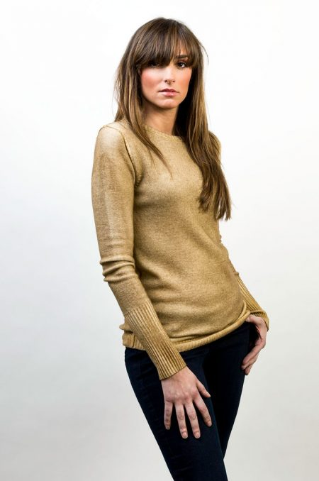 Knit Round Neck Two Colors Reversible - cod. T302