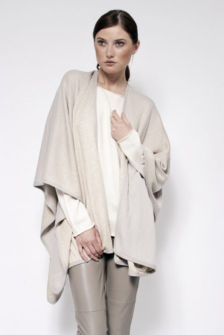 Cashmere lurex faded shawl - cod. 20/33