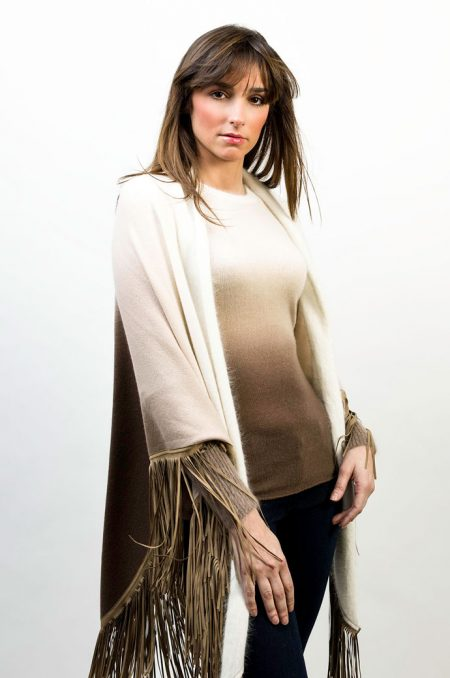 Knit Round Neck Shade - Shawl Shade - cod. T305 - 1429